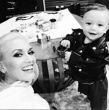 Gwen Stefani's Selfie With Son