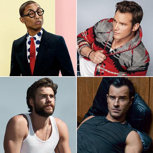 Hot Male Celebrities 2014