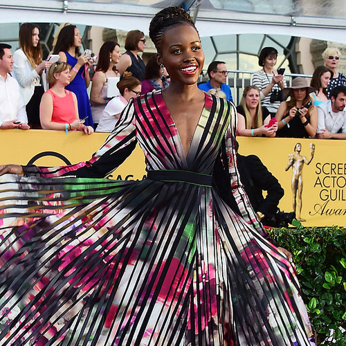 Celebrities on the SAG Awards Red Carpet 2015