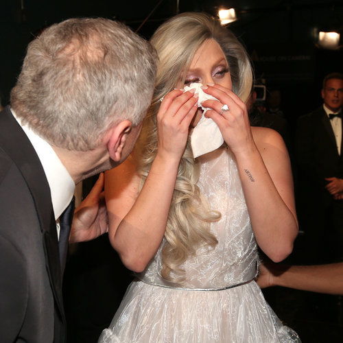 Lady Gaga at the Oscars 2015 | Pictures and GIFs