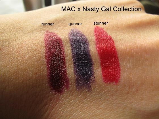 Mac x nasty gal winter 2017 makeup collection