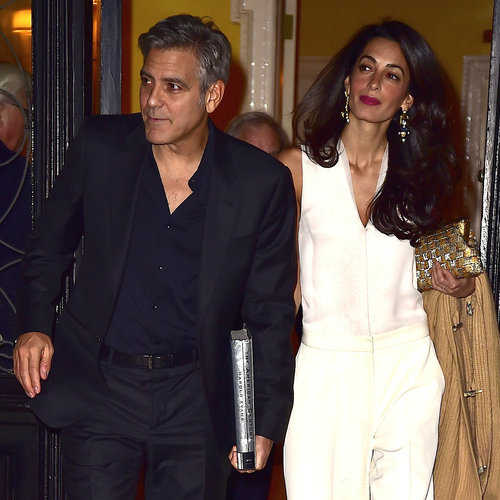 George Clooney and Amal Alamuddin in NYC | Pictures