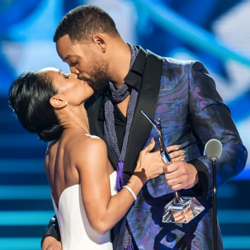 Will and Jada Pinkett Smith at Black Girls Rock! 2015