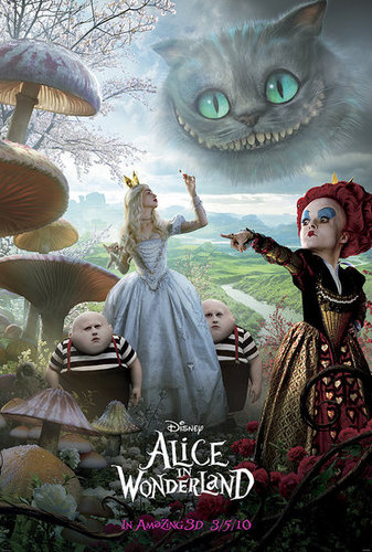 Awesome New Alice in Wonderland Poster!
