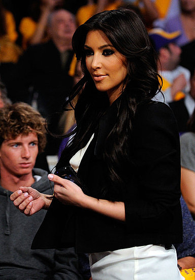 Celebrities at the Lakers Vs Clippers Game