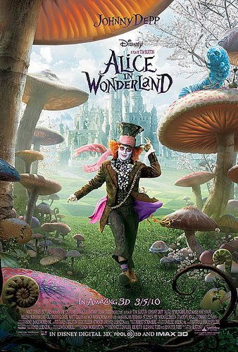 2 new awesome posters from Alice in Wonderland