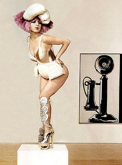 Lady Gaga does Vanity Fair Italy-december 09