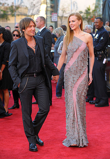 Nicole Kidman and Keith Urban at the 2009 American Music Awards