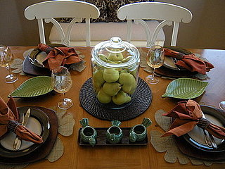 Organic Fall Table Setting