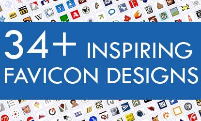 34+ Inspiring Favicons Designs