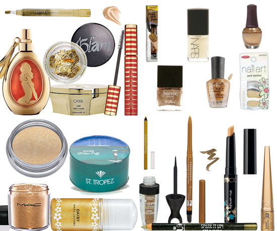 Holiday Makeup: The Golden Girl