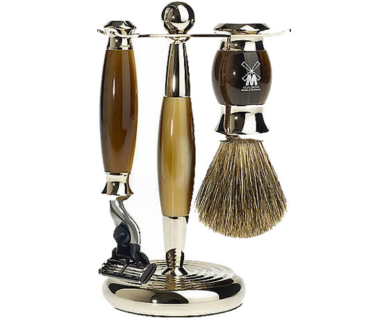 For Dad, Who Loves a Close Shave