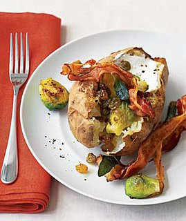 Baked Potatoes With Brussels Sprouts and Bacon Recipe
