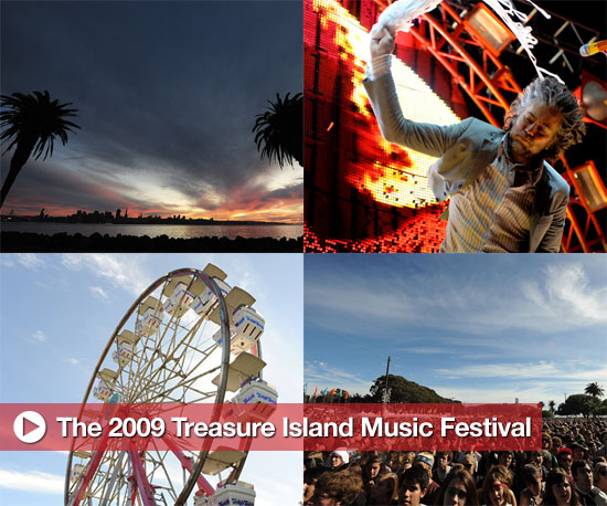 Photos from the 2009 Treasure Island Music Festival