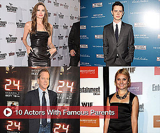 Buzz's 10 Favorite Actors With Famous Parents