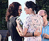 Photo Slide of Russell Brand And Katy Perry Kissing in LA
