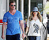 Slide Photo of Eric Dane and Rebecca Gayheart Going for Pizza in LA