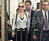Slide Photo of Lindsay Lohan at LA Courthouse