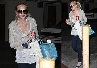 Photos of Lindsay Lohan in LA Before Her Rumored Court Appearance
