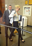 Photos of Lindsay Lohan in Court