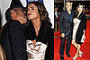 Photos of George Clooney and Elisabetta Canalis Premiering Men Who Stare at Goats in London 2009-10-15 16:30:00
