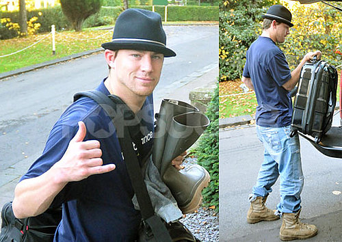 Photos of Channing Tatum Filming Eagle of the Ninth
