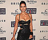 Slide Photo of Halle Berry Wearing Black Dress at Charity Event in NYC