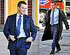 Photos of Matt Damon on Set for The Adjustment Bureau 2009-10-20 09:17:59