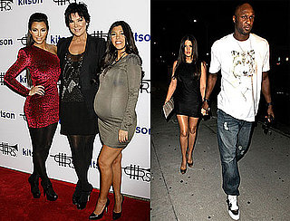 Photos of the Kardashians Celebrating Lamar Odom's Fashion Line And Kim's 29th Birthday