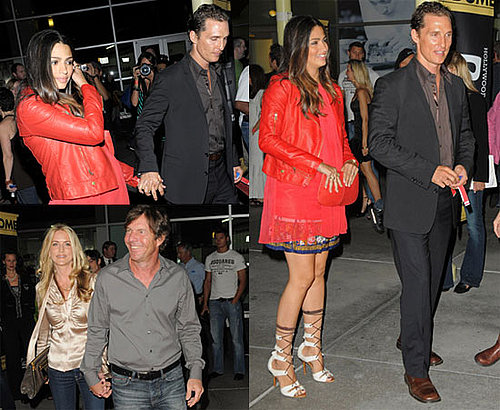 Photos of Matthew McConaughey And Pregnant Camila Alves at a Screening in London 2009-10-22 08:24:06