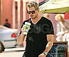 Slide Photo of Eric Dane After Working Out
