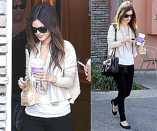 Photos of Rachel Bilson in LA 2009-10-25 10:00:43