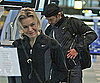Slide Photo of Renée Zellweger and Bradley Cooper at Vancouver Airport Together