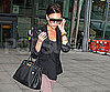 Slide Photo of Victoria Beckham Leaving Heathrow Airport