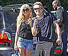 Slide Photo of Heidi Montag and Spencer Pratt in Malibu Getting Yogurt