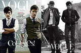 Photos of Josh Hartnett and Lee Byung-hun on the Cover of Korean Vogue 2009-10-21 04:00:00