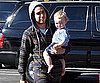 Photo Slide of Pete Wentz And Bronx Wentz in LA