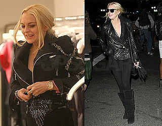 Photos of Lindsay Lohan Shopping in NYC