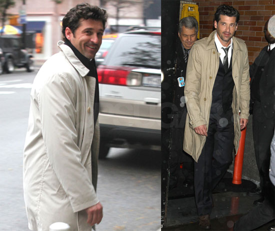 Photos of Patrick Dempsey on Good Morning America 2009-10-28 10:15:38