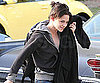 Slide Photo of Kristen Stewart in LA Returning Home After Wrapping Eclipse