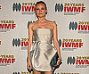 Slide Photo of Diane Kruger on Red Carpet at Courage in Journalism Awards
