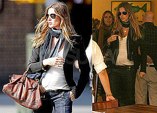 Photos of Pregnant Gisele Bundchen With Friends in NYC