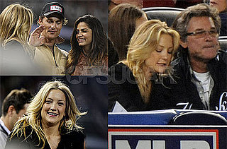 Photos of Kate Hudson, Matthew McConaughey Attending Game One of the World Series in NY