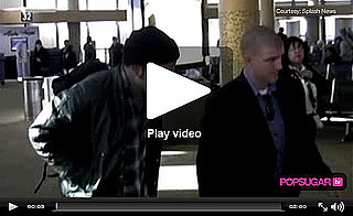 Video of Robert Pattinson and Kristen Stewart Together at LAX