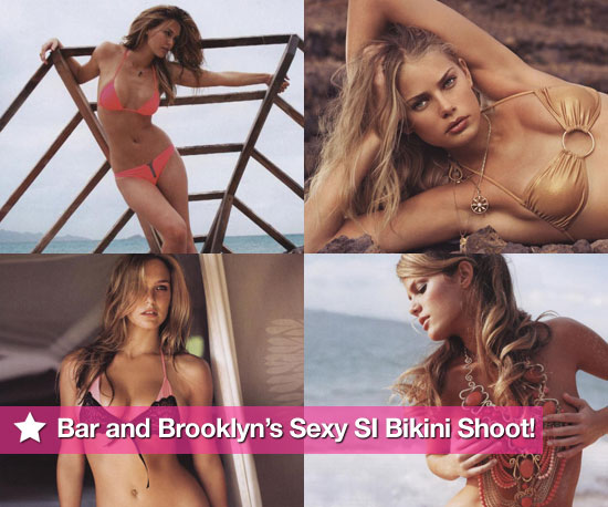 Photos of Bar Refaeli and Brooklyn Decker in Bikinis for Sports Illustrated