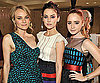 Slide Photo of Diane Kruger, Jessica Stroup and Lily Collins at Jason Wu Event