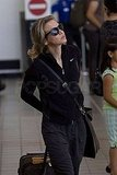 Photos of Renee Zellweger and Bradley Cooper at the Airport