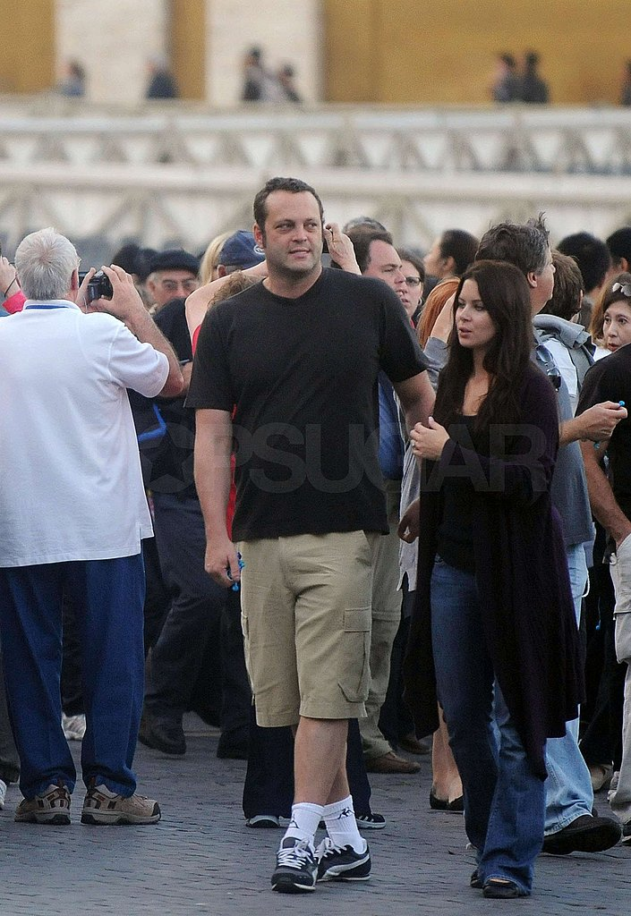 Photos of Vince Vaughn and Kyla Webber in Rome
