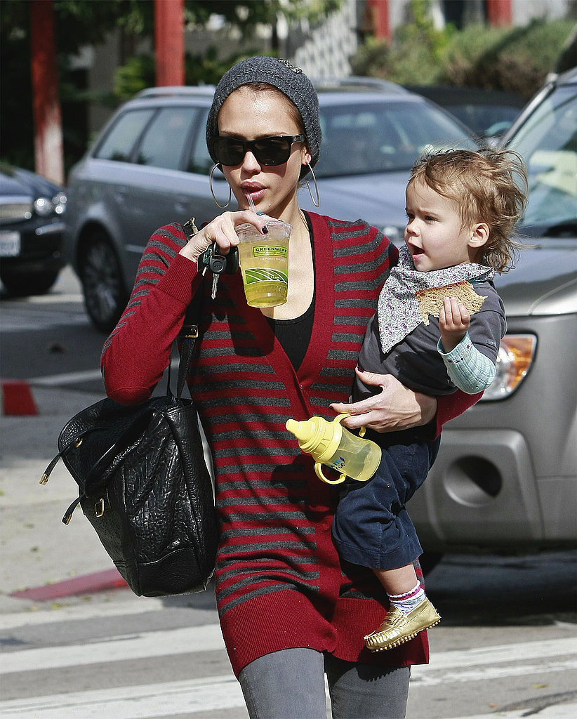 Photos of Jessica Alba and Honor in LA