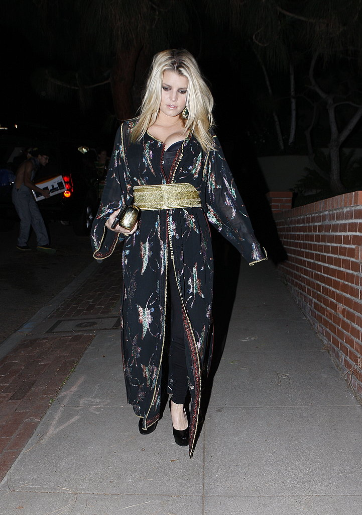 Photos of Jessica Simpson on Halloween